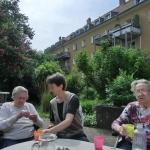 Gartenprojekt Rosengärtchen - Pause